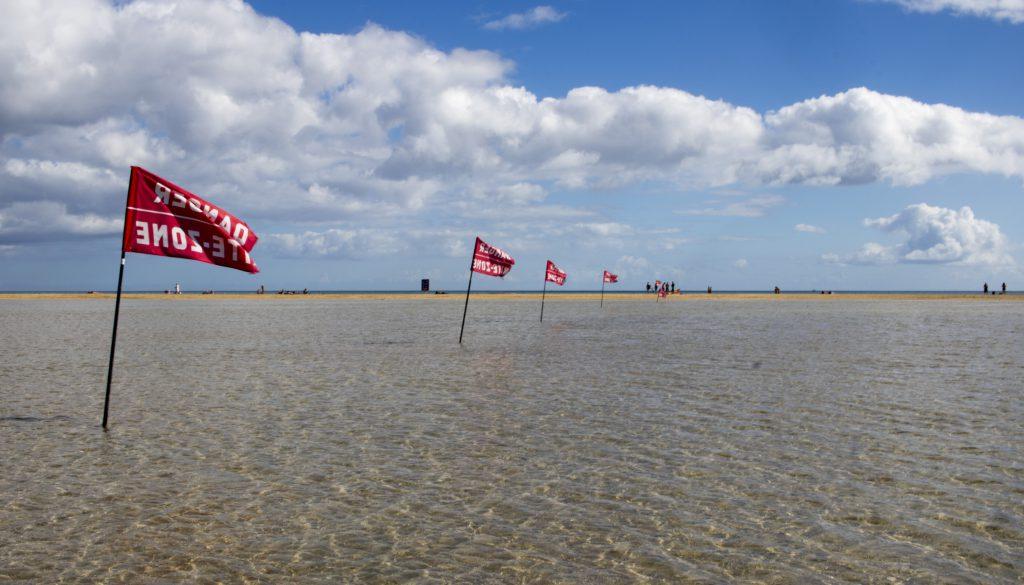 Attenzione ai Kite a Playa de la Barca
